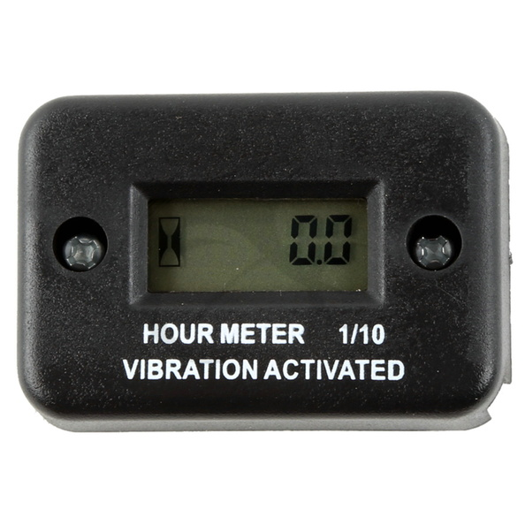 Aftermarket Hour Meter : Motorcycle tach vibration activated hour meter for atv